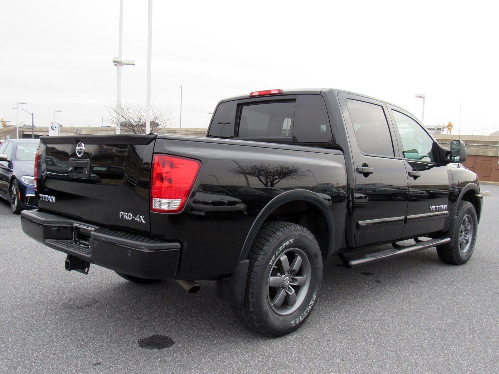 Pre-Owned 2015 Nissan Titan PRO-4X
