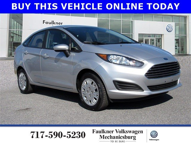 Pre-Owned 2017 Ford Fiesta S