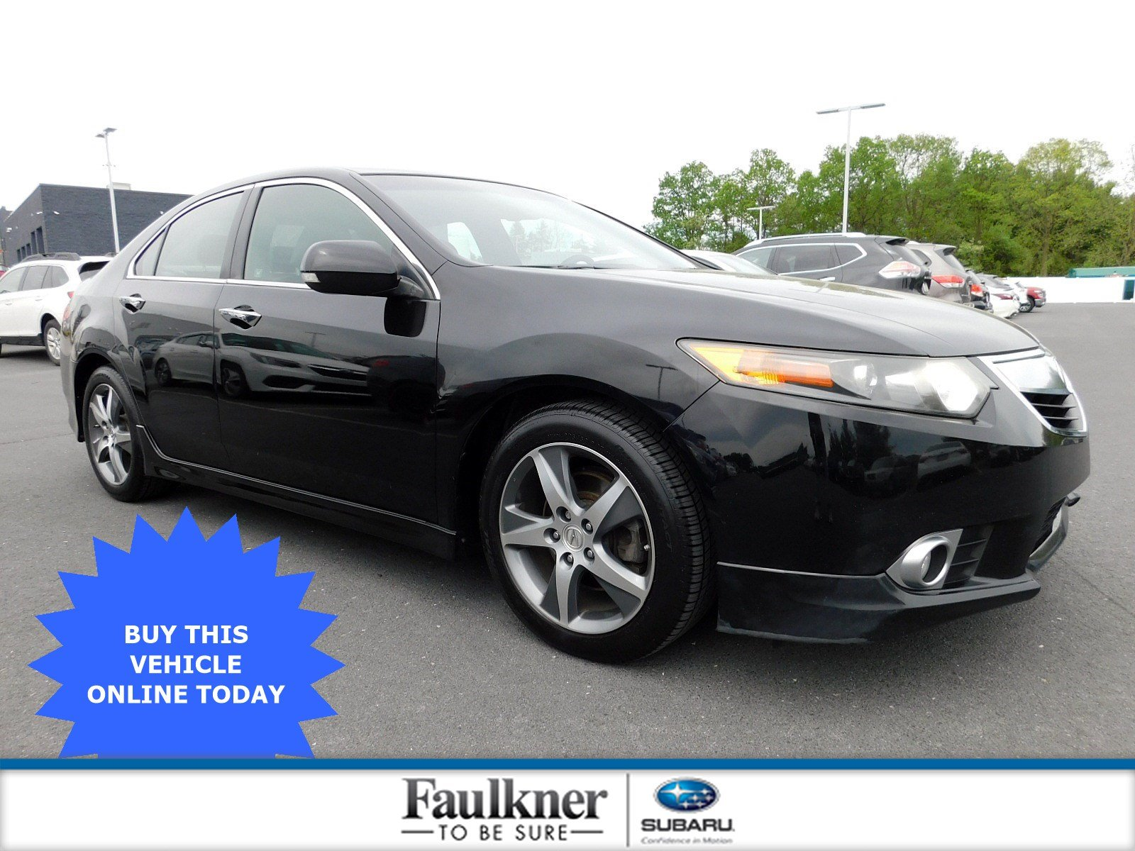 Pre-Owned 2012 Acura TSX Special Edition