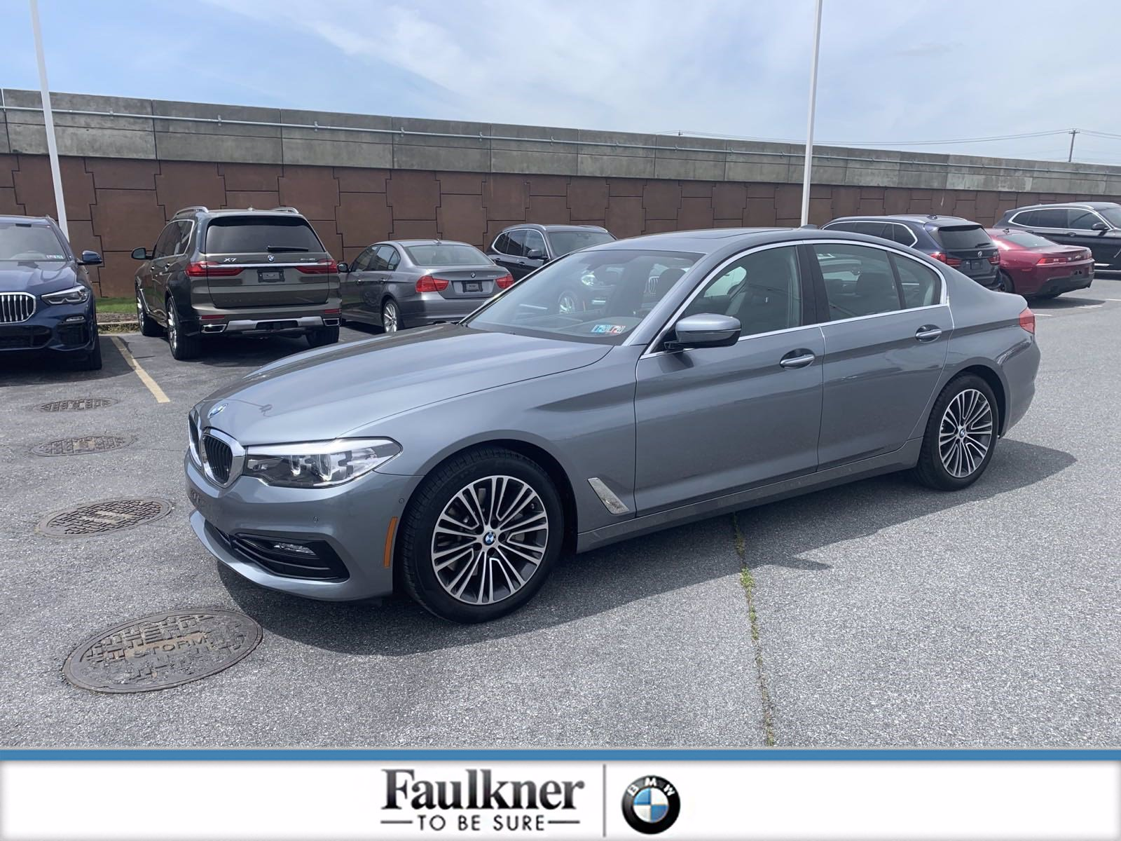 Pre-Owned 2017 BMW 5 Series