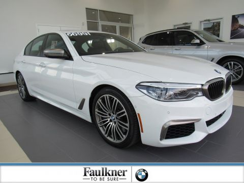 Certified Pre-Owned 2018 BMW 5 Series M550i xDrive
